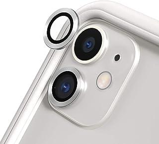 RhinoShield iPhone11 カメラレンズプロテクター[2個入り] | 9H 強化ガラス 高い透明度 傷を防ぐ - シルバー