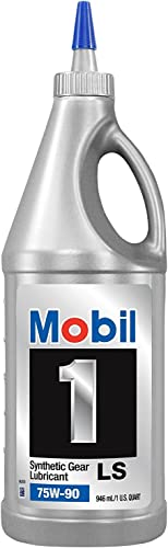 Mobil 1 104361 75W-90 Synthetic Gear Lube - 1 Quart (Pack of 2)