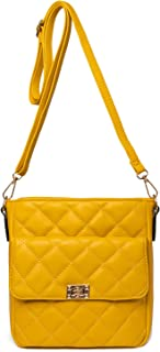 Damen Crossover Schultertasche, Crossbody Pocketbooks Leichte Geldbörse und Handtasche
