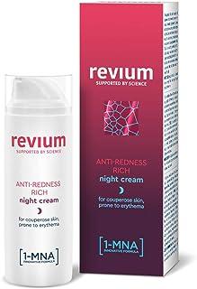 Revium Rosacea rijke anti-roodheidsnachtcrème voor erythem-gevoelige couperose-huid, met 1-MNA-molecule, chlorella-vulgari...