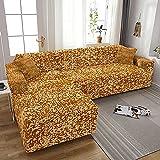 WXQY Funda de sofá Todo Incluido elástica con impresión en...