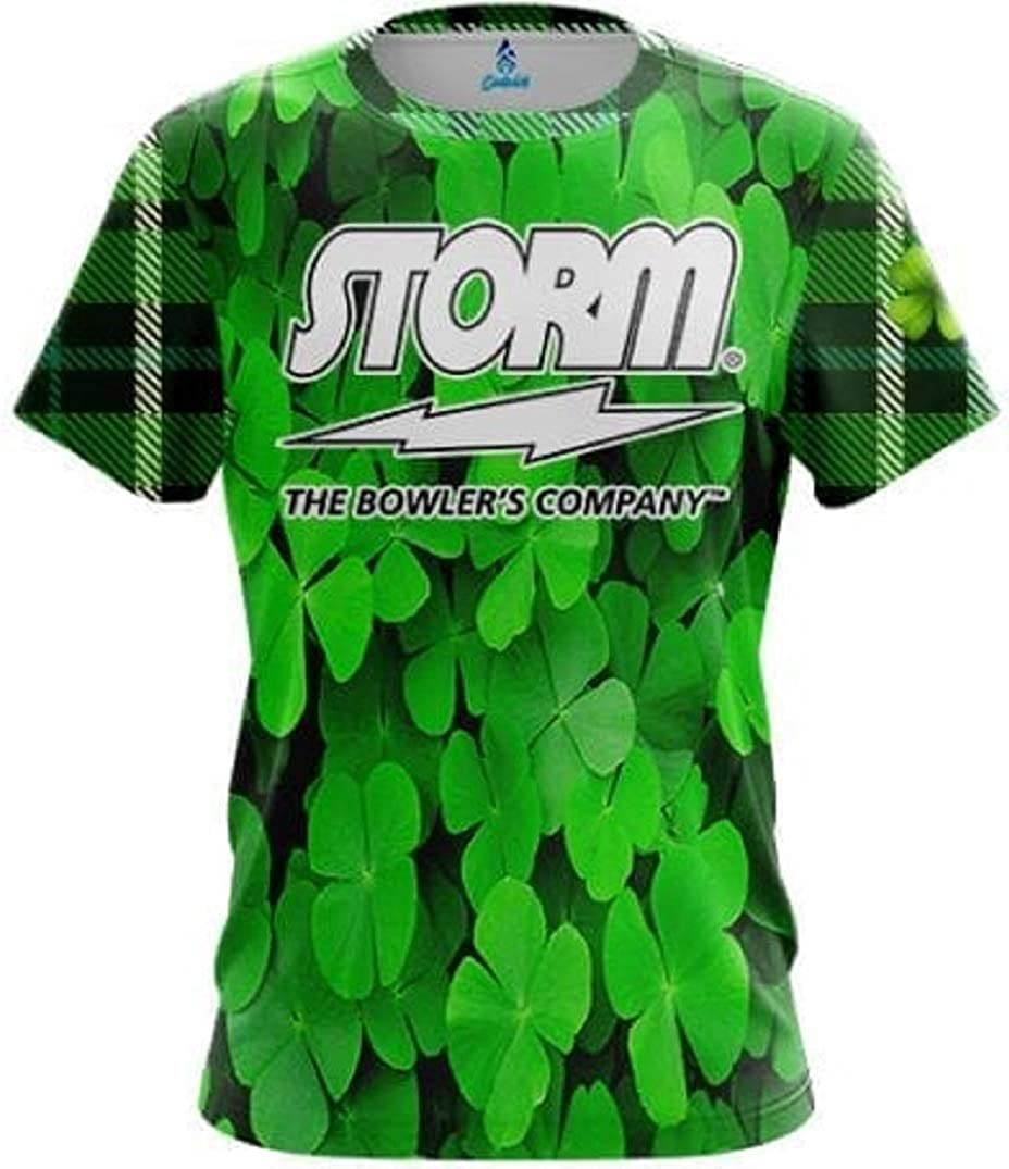 CoolWick shopping Storm Some reservation Lucky Jersey Bowling Shirt