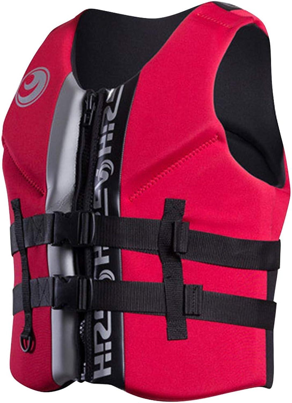 Hony Unisex Adult Swimsuit Float Vest Boy Girl Inflatable Swimwear Snorkeling Jacket