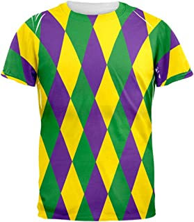 Old Glory Mardi Gras Jester Costume All Over Adult T-Shirt