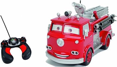 Majorette - 213089549 - voitures - rouge Fire - Camion Pompier RadioComhommedé - Rouge - MultiFonctions - 29 cm