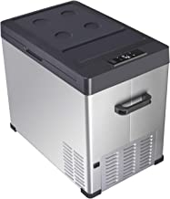 Linsion 54 Quart RV Refrigerator/Freezer Compact Vehicle Car Fridge Compressor Electric Cooler for Car,Truck,RV,Boat,Outdo...
