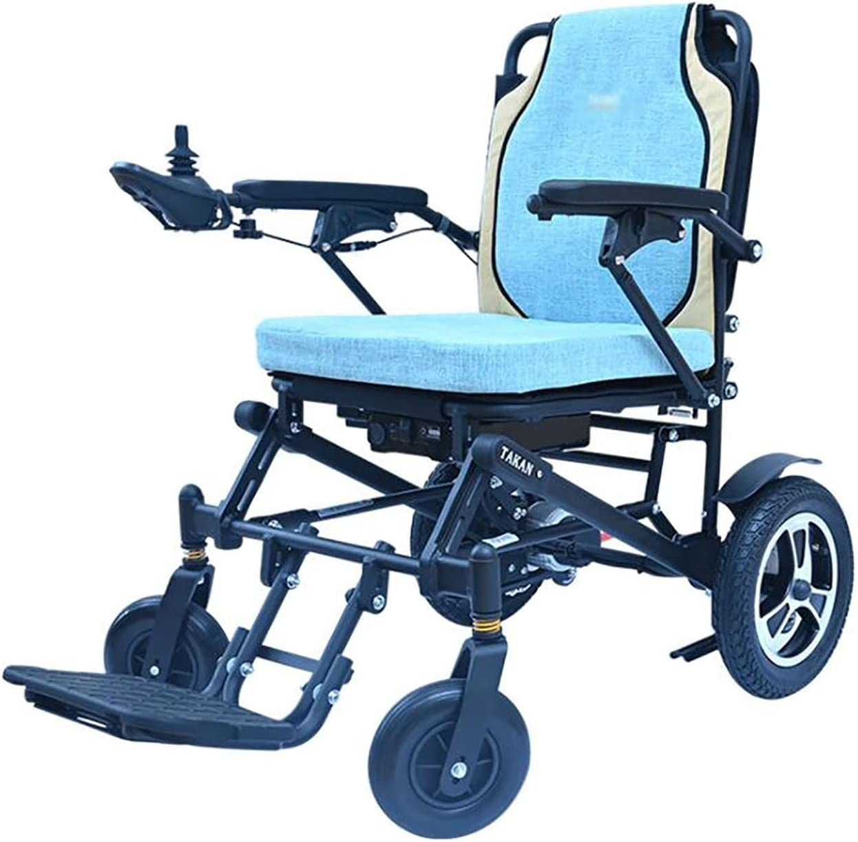 XIAOQIAO latest Smart Electric Wheelchair Foldable and Washington Mall Portable Power W