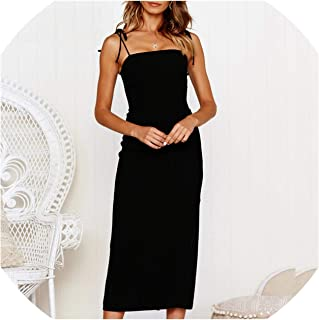 Women Sexy Off Shoulder Sleeveless Strapless Dress Summer Split Bodycon Robe Dress Elegant Backless Slim Party Dresses