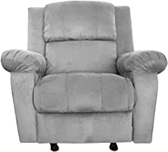 Classic Recliner Chair Upholstered AB02 - Grey