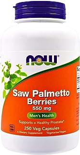 Now, Saw Palmetto Berries, 550 mg, 250 Veggie Caps