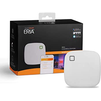 AduroSmart ERIA Zigbee Home Hub/Gateway works with ZigBee: Lighting/Sensors/Plugs/Thermostats/Locks/Voice Control; Amazon Alexa / Google Assistant