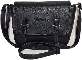 فكريا حقيبة للنساء-كحلي داكن - حقائب طويلة تمر بالجسم