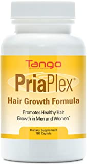 PriaPlex Advanced Hair Support Formula: All-Natural Herbal Supplement for Age-Related Hair Loss