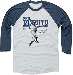 500 LEVEL Phil Rizzuto Shirt - Vintage New York Baseball Raglan Tee - Phil Rizzuto Play
