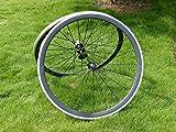 Full Carbon 3K brillante bicicleta de carretera Clincher Wheel Rim Side de freno de aleación de 38mm Ancho 23mm Toray Llantas de carbono para Campagnolo