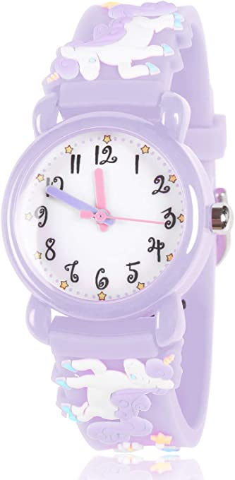 Dodosky Kids Watches, 3D Cute Cartoon Waterproof Watch for Girl and Boy-The Best Gift