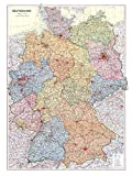 Historische Karte: Deutschland 1952 [Deutsch-Deutsche Gesamtkarte]