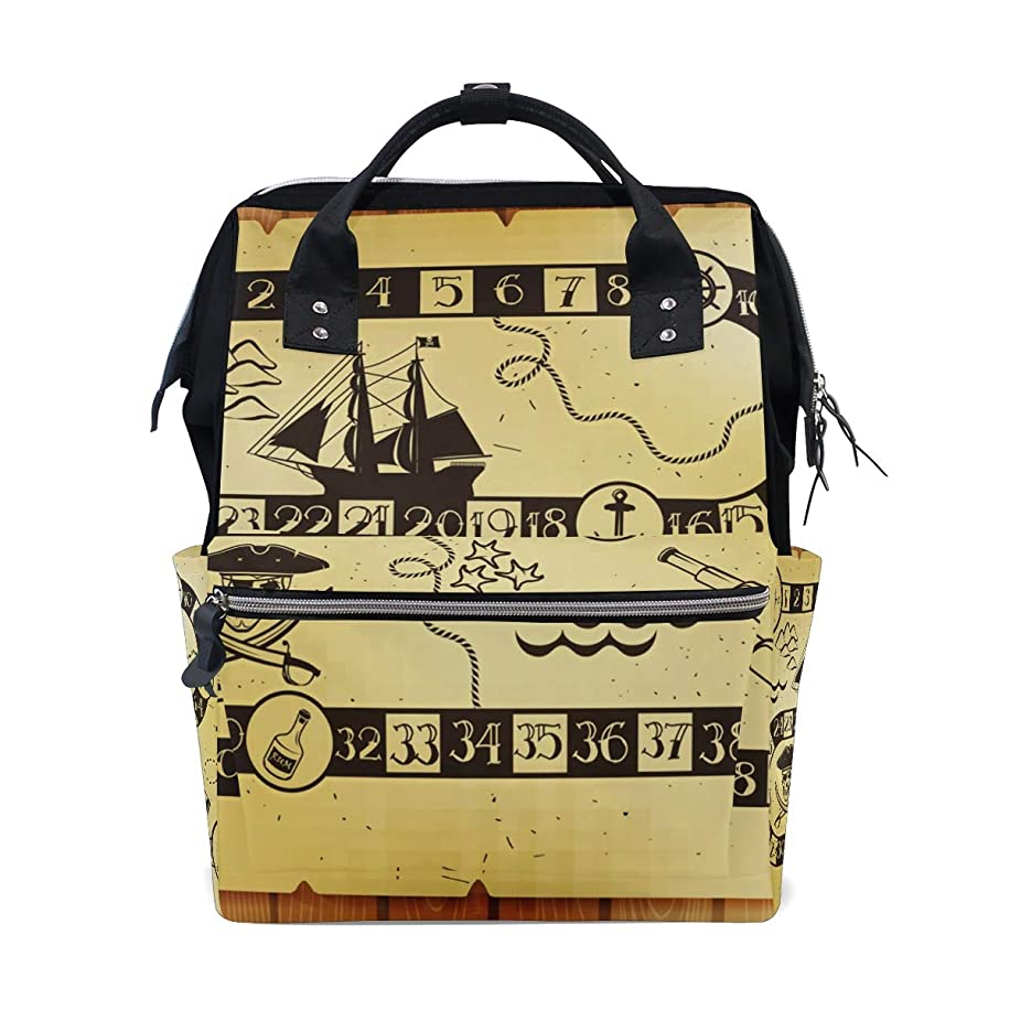 Kids Pirate Game Table School Backpack Large Capacity Mummy Bags Laptop Handbag Casual Travel Rucksack Satchel For Women Men Adult Teen Children