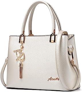 حقائب يد للنساء حقائب الكتف مصمم من الأعلى مقبض حقيبة يد