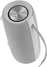 Vieta Pro Upper - Altavoz portátil (Bluetooth, Radio FM, micrófono integrado, True Wireless Dual pair, Reproductor USB, Lector de tarjeta Micro SD, Resistencia al agua IPX6) color gris