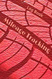 Log book  Mileage Tracking: Notebook  to keep track of your vehicle's mileage | cover red leather | gift | 100 pages | 5,25 x 8 inches