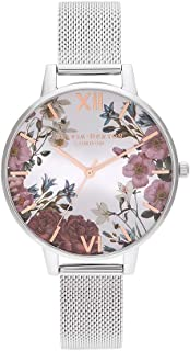 Olivia Burton Womens Quartz Watch, Analog Display and Stainless Steel Strap OB16EG133