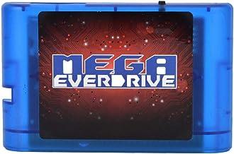 AMONIDA Cartouche de Jeu 4K OSV3.6 32GB SD MD Game Card pour Sega Megadrive Genesis Mega Drive