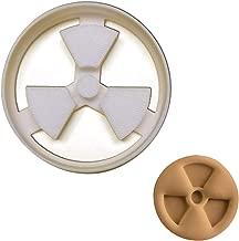 Radiation Symbol cookie cutter, 1 piece - Bakerlogy