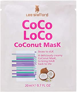 Lee Stafford CoCo LoCo CoConut Hair Mask For Mosturising Hair Top To Bottom 20 ml