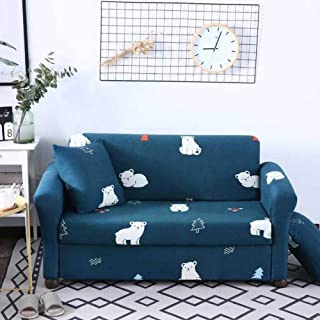 High Stretchy Elastic Couch Cover,universal Rural Sofa Cover,not-slip Sofa Slipcover,fashion Soft Couch Shield Furniture P...