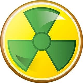 Emoji Hulk Radioactive Symbol - Marvel Comics - Pinback Button 1.25