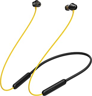 (Renewed) realme Buds Wireless 2 Neo (Black) in-Ear Earphones with Type-C Fast Charge | 17-Hour Battery | 11.2mm Bass Boos...