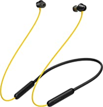 (Renewed) realme Buds Wireless 2 Neo (Black) in-Ear Earphones with Type-C Fast Charge   17-Hour Battery   11.2mm Bass Boos...