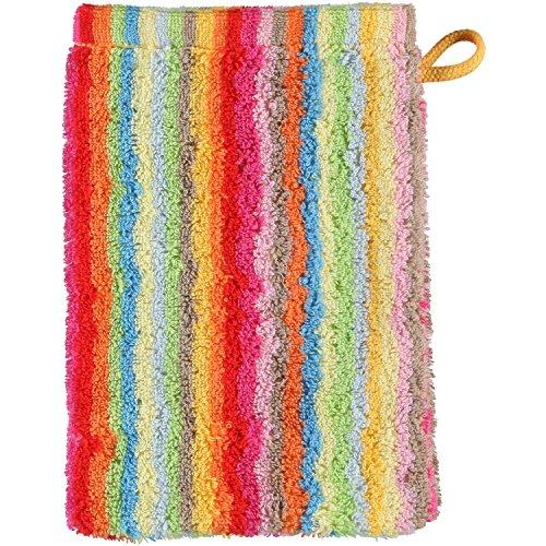 Cawö 7008 Lifestyle Streifen Waschhandschuh 16 x 22 cm 6er Set