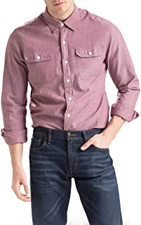 Camisa Levis Classic Worker Masculino Roxo