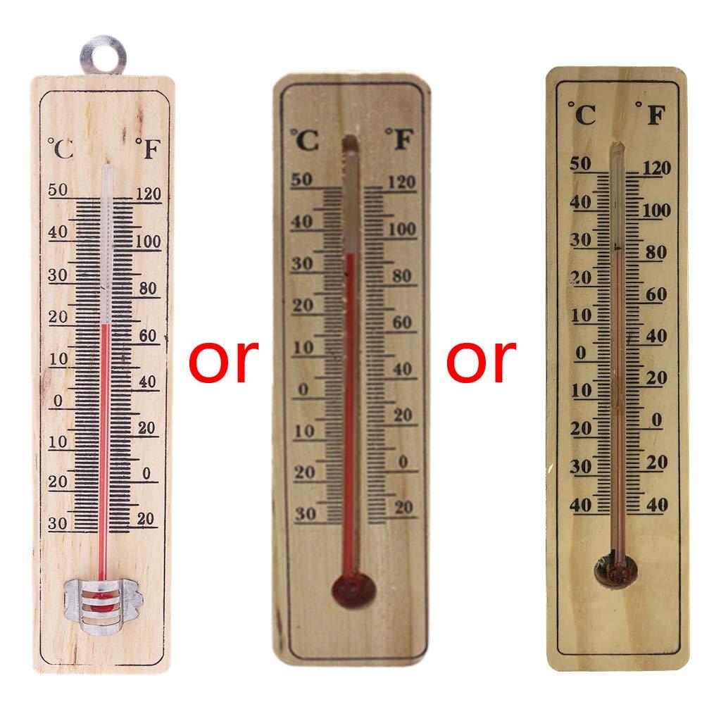 Termómetro, pared colgante, termómetro interior exterior jardín casa garaje oficina Hung Logger: Amazon.es: Bricolaje y herramientas