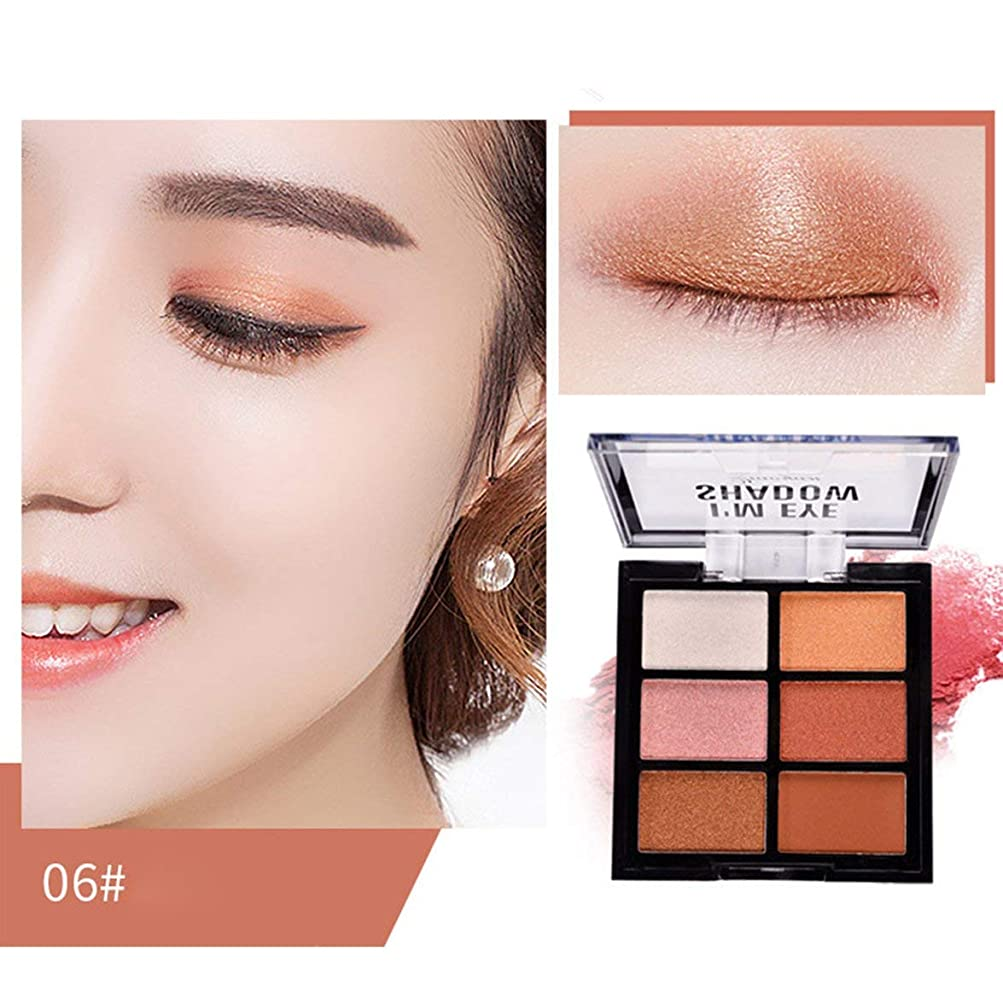 アレルギー大使論争Intercorey Peach flower makeup Charming colors Eyeshadow Palette Make up Palette Matte Shimmer Pigmented Eye Shadow Powder Beauty Makeup