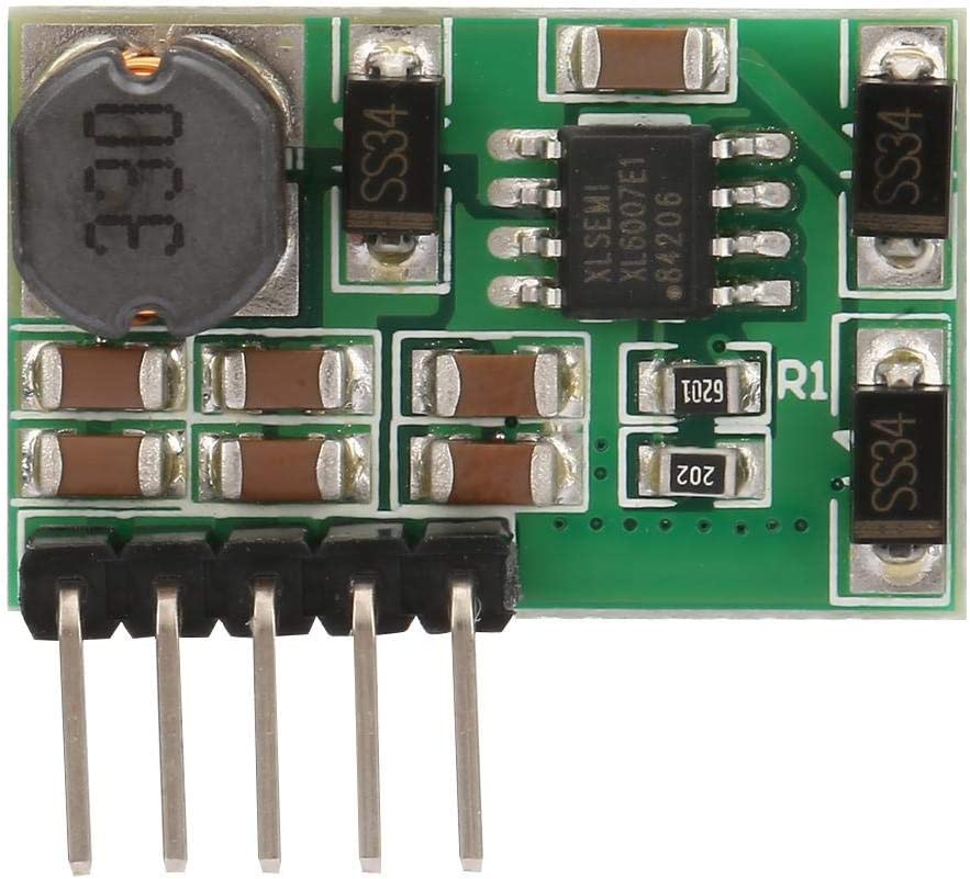 DC-DC Step up Power Module Suit for ADC DAC Operational Amplifier,RS232 RS485 RS422 Bus,LCD Power,Step Up Boost Converter(15V)