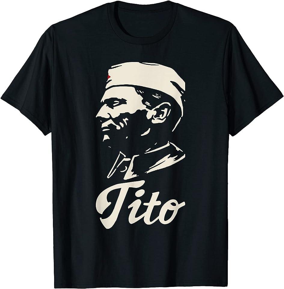 Born in SFRJ Josip Broz Tito Jugoslawien Balkan T-Shirt
