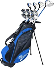 "Palm Springs Golf VISA Mens +1"" TALL GRAPHITE & STEEL Club Set & Stand Bag"