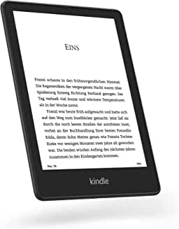 Product Image Kindle Paperwhite Signature Edition 32GB, kabellose Ladefunktion