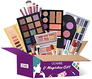 UCANBE Makeup Surprise Mystery Box Gift Set - Exclusive All in One Makeup Set - Include Eyeshadow...