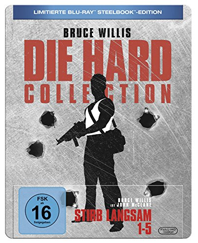 Stirb Langsam 1-5 Steelbook [Blu-ray] [Limited Edition]
