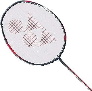 Yonex Duora 77 Badminton Racket (Red/White)(3UG5)(Strung with BG65 @ 24lbs)