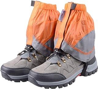 TRIWONDER Polainas Impermeable de Senderismo para Piernas a Prueba de Viento Nieve Lluvia para Montaña Caza Esquí Escalada 1 Par