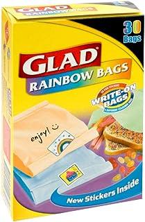Glad Rainbow Sandwich Bags, 30s