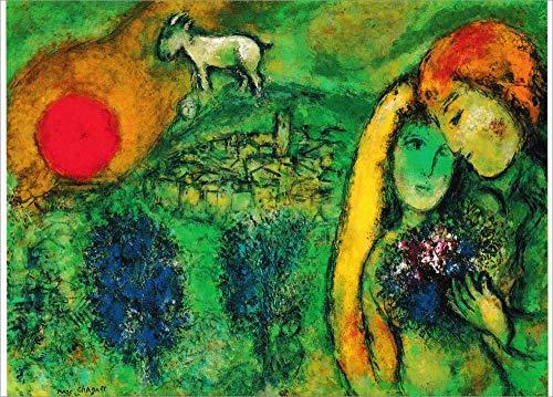 Kunstkarte Marc Chagall