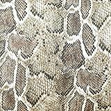 19,90€/m Stoff Kunstleder Schlange Cobra Python |
