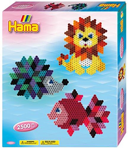 Hama 3237 - Geschenkpackung Kristall - Tiere, Bügelperlen