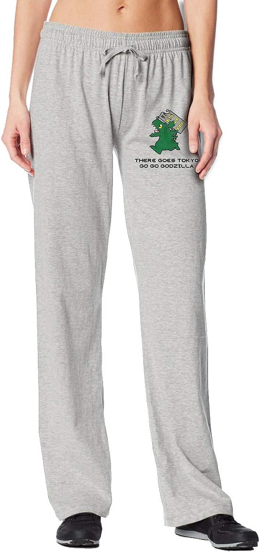 Meamyezz Women's Godzilla Joggers Pants with Pockets